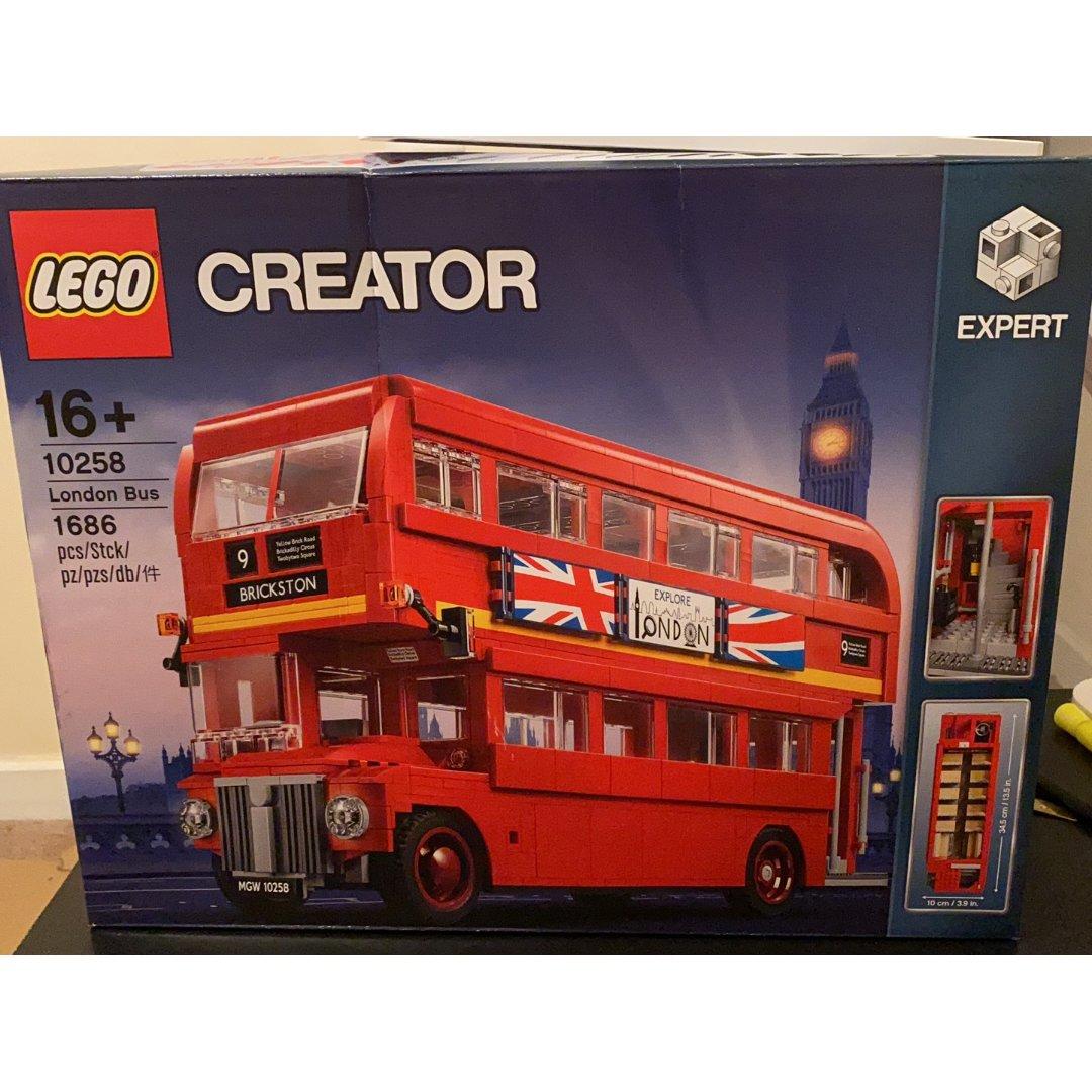 乐高10258伦敦巴士