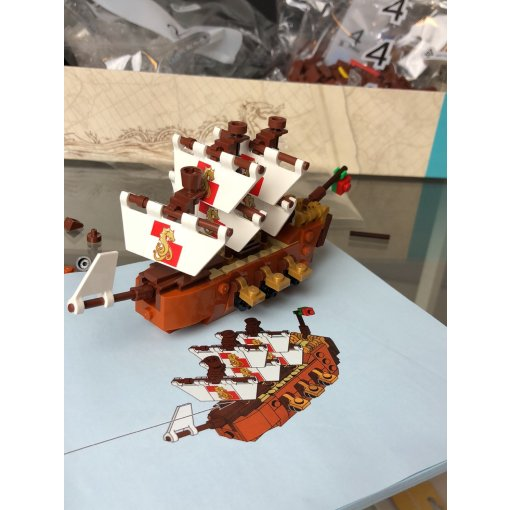众测|LEGO瓶中船