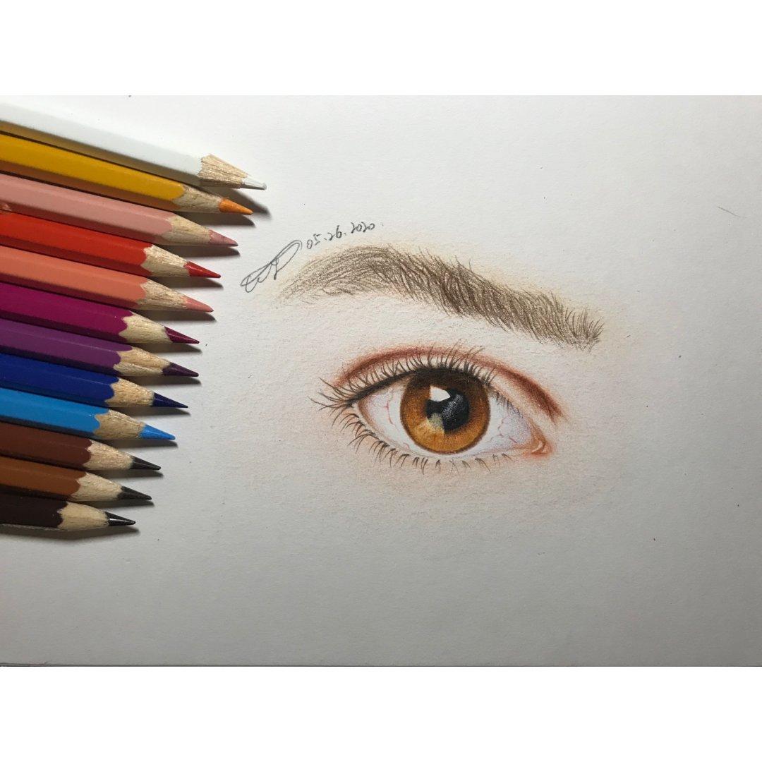 【2020】1⃣️2⃣️学画画之眼睛...