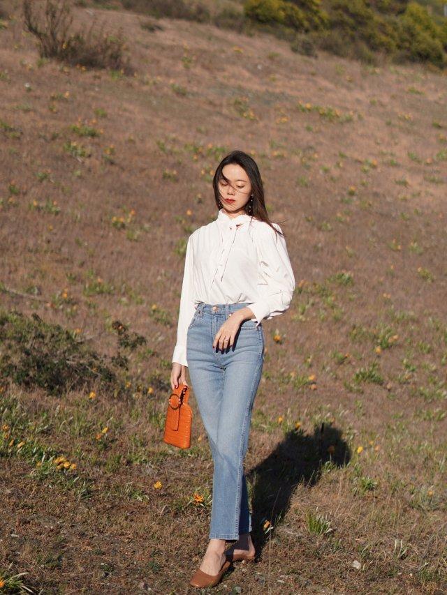 穿搭 | 万能的白衬衣牛仔裤