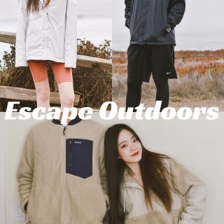 Escape Outdoors|户外情侣穿搭🏃🏻‍♀️