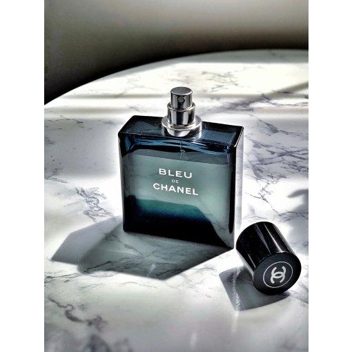 有没有喜欢男香的妹子?最爱Chanel BLEU香水和止汗膏