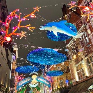 圣诞节最美的伦敦💗~...