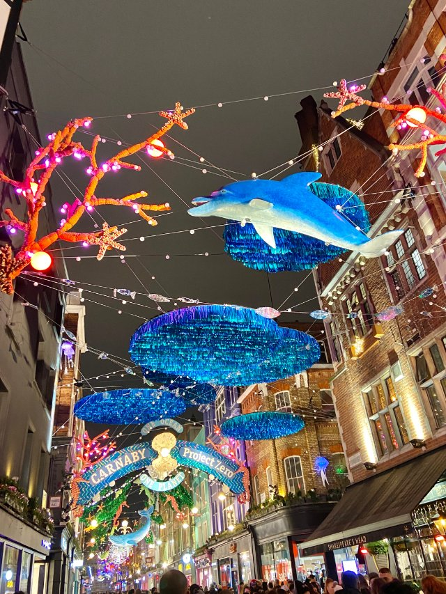 圣诞节最美的伦敦💗~