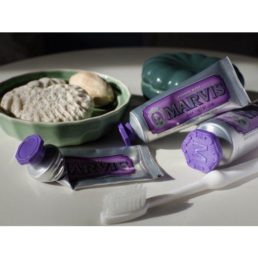 空管+在用+囤货=真爱!Marvis茉莉薄荷味牙膏