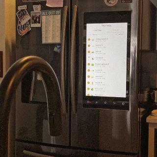 🏠家居发现| 这么酷的高科技冰箱!...