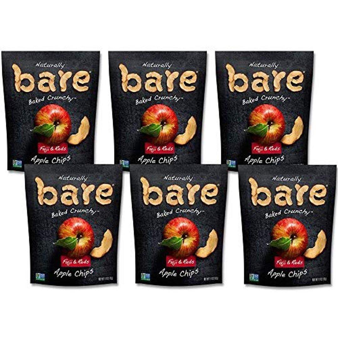 天然苹果干脆片 混合口味 1.4oz. 6包