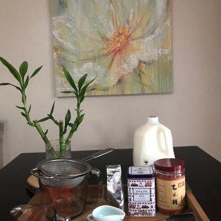 自制奶茶-喜歡那種勝在茶味香的奶茶...