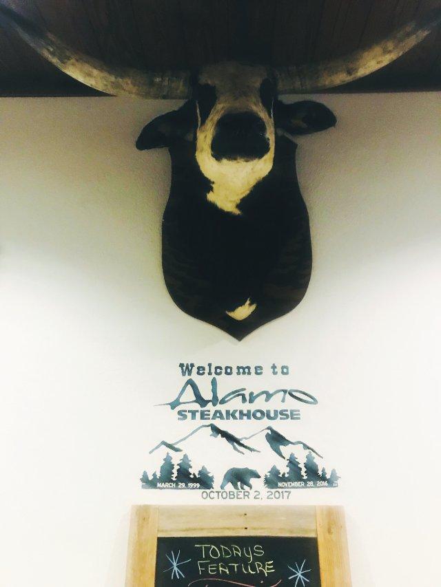 吃货探店 大雾山脚下的Alamo牛排馆