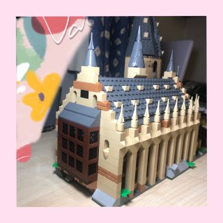 情人节礼物👉拥有了哈利波特魔法城堡🧙♀...