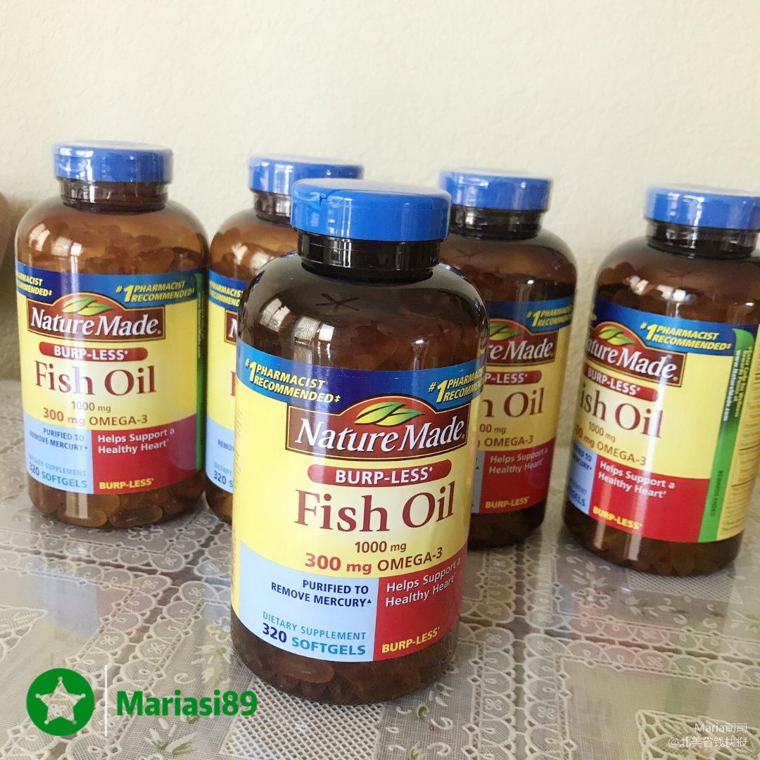 $4不到的nature made鱼油!