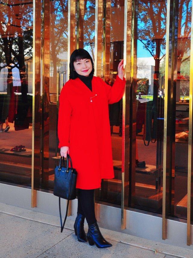 穿搭 | ❤️开年大红色❤️新的一...