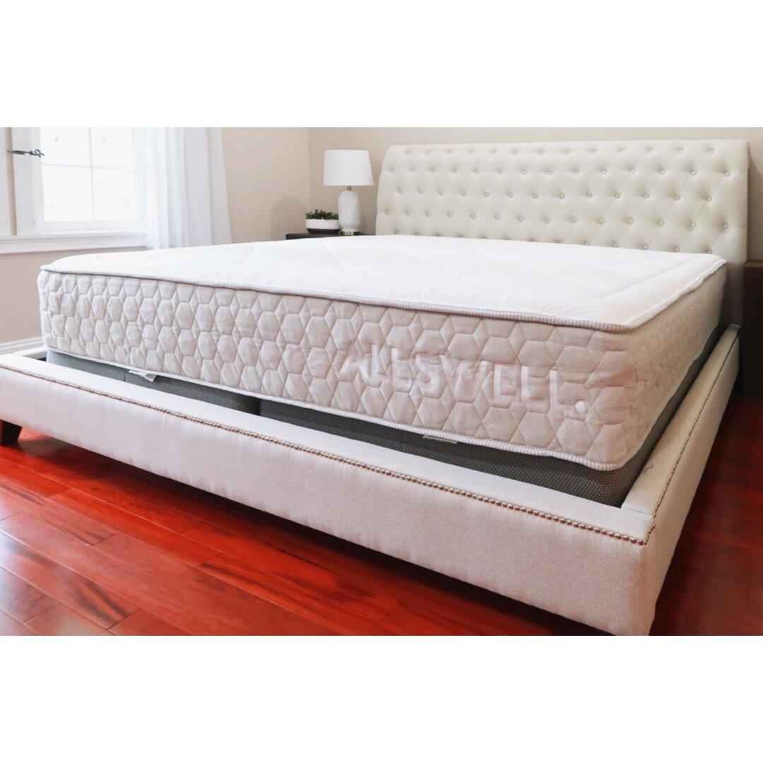 周末收到众测的Allswell床垫...