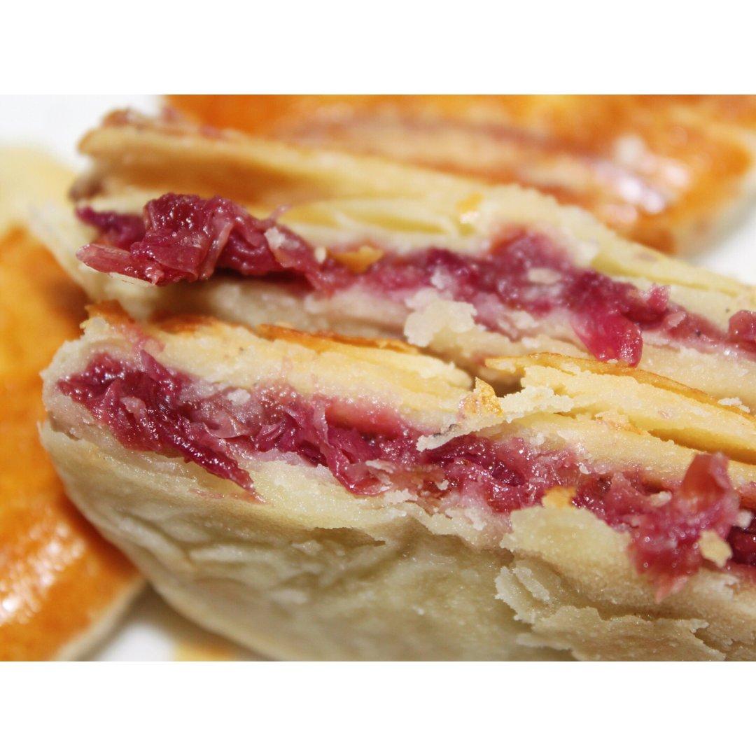 美食分享 | 现烤鲜花饼🌹你们吃过吗?
