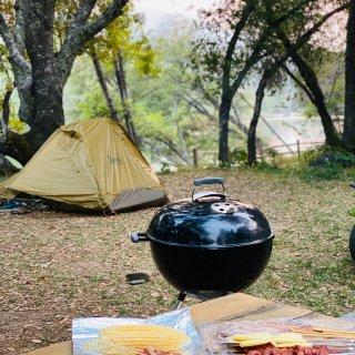 漂流前夜的露营烧烤⛺️...