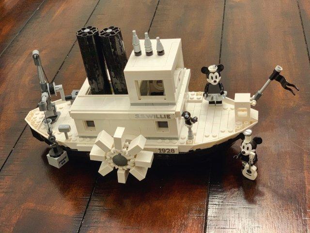 🚢.。开船啦~ -Lego蒸汽船