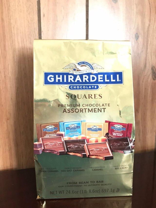 Ghirardelli——经典方块巧克力