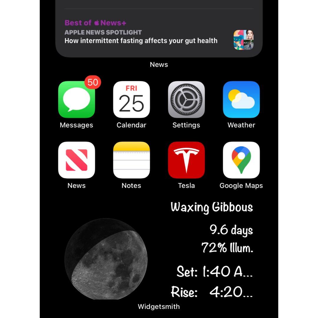 快把月亮🌙放到你的手机桌面吧