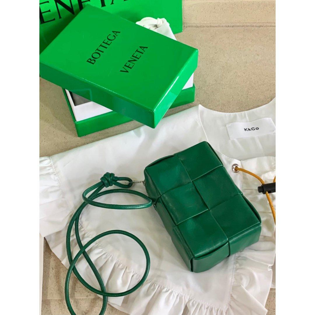 圣诞绿可爱包包|小众彼得潘假领子