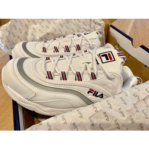 Fila就是潮|老爹鞋還是白的好