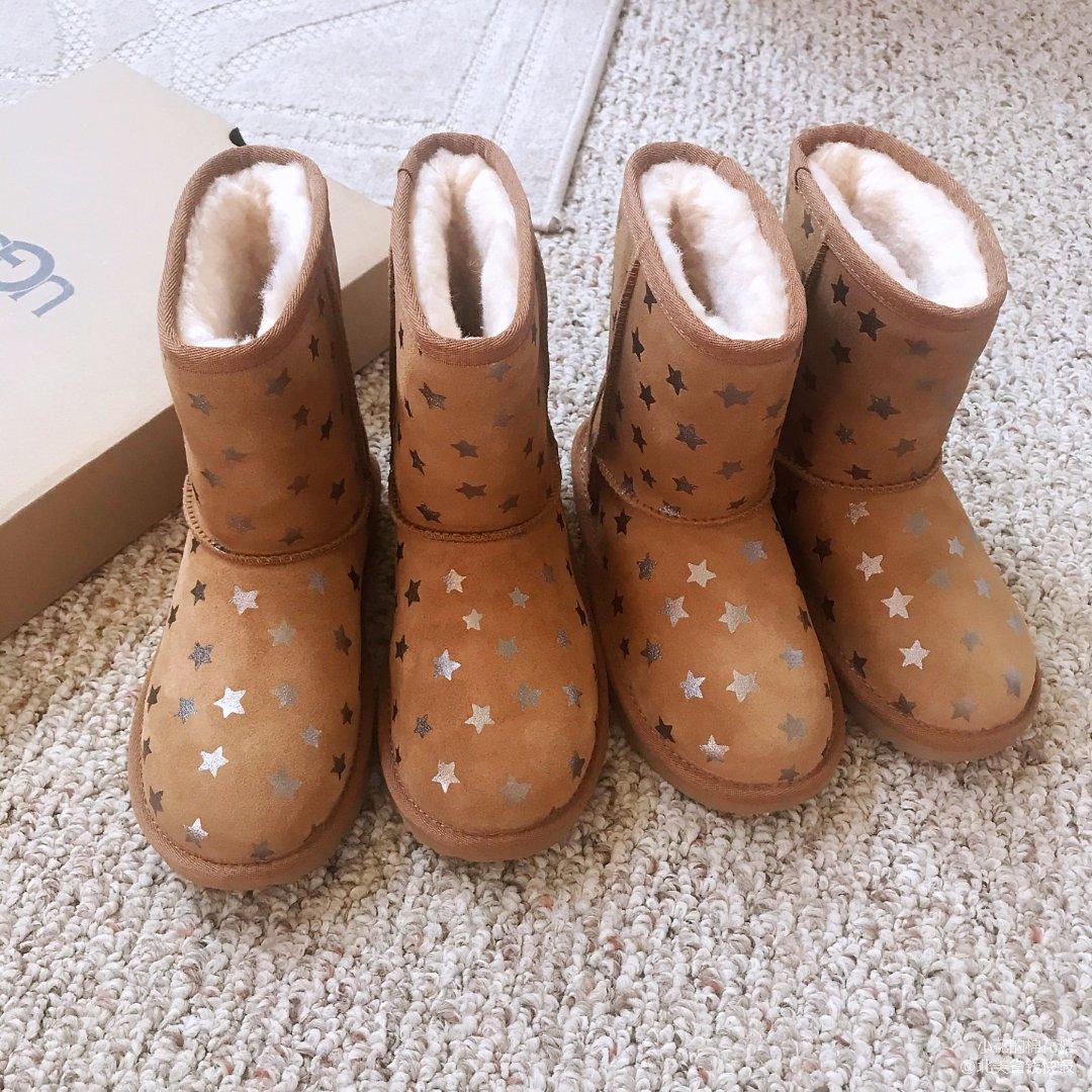 Ugg小孩子星星✨雪地靴.