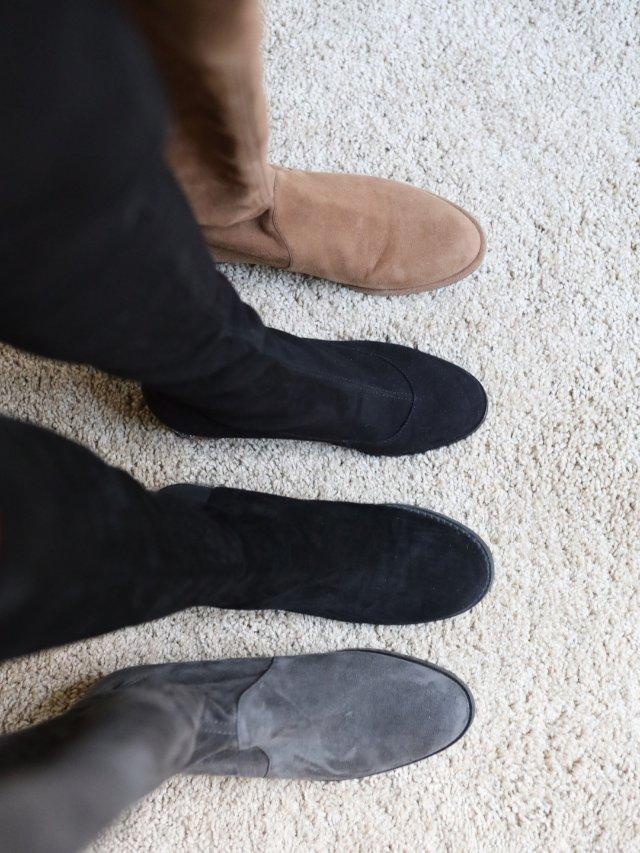 过膝靴季节来啦|除了SW,这两个小...