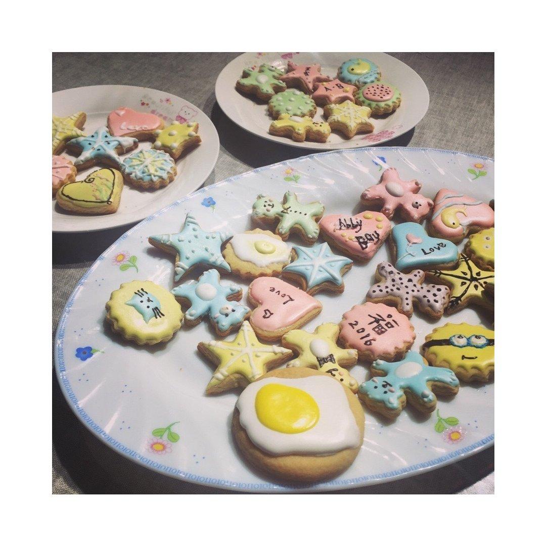 DIY糖霜饼干🍪