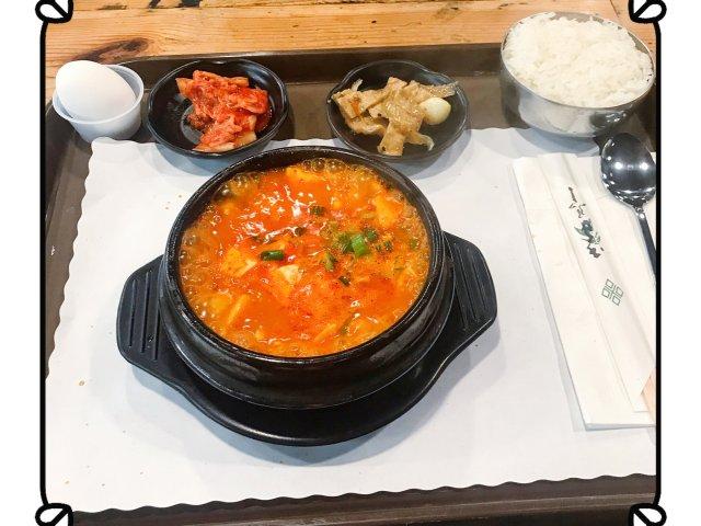 【韩式豆腐锅】