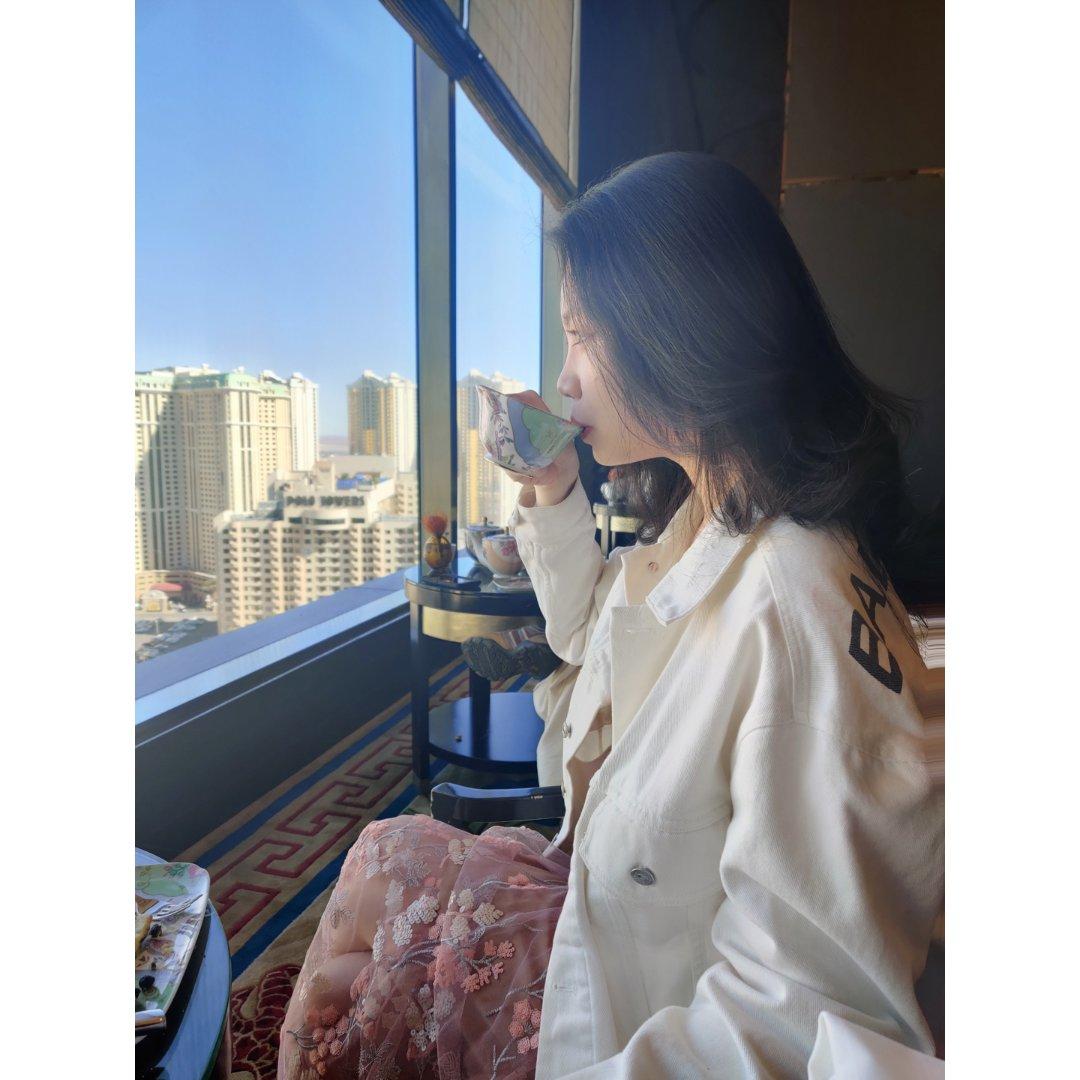 Vegas高空下午茶☕️ | 华尔道夫T...