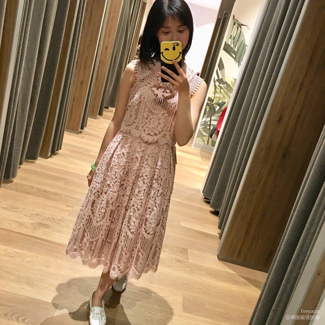 Next 夏装新款蕾丝连衣裙~<b...
