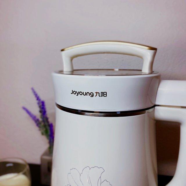 开始了有豆浆机的生活!