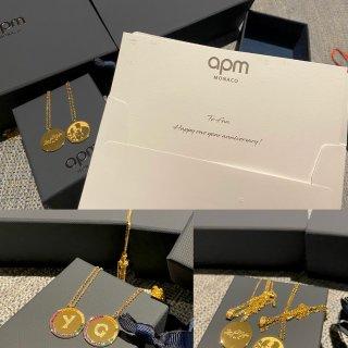 APM.情侣定制金币项链🌟独一无二的礼物...