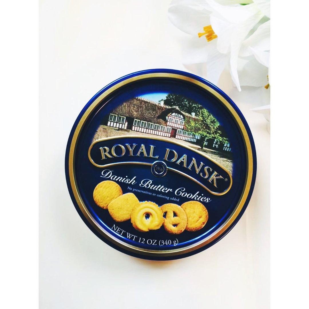 超好吃的Royal dansk饼干