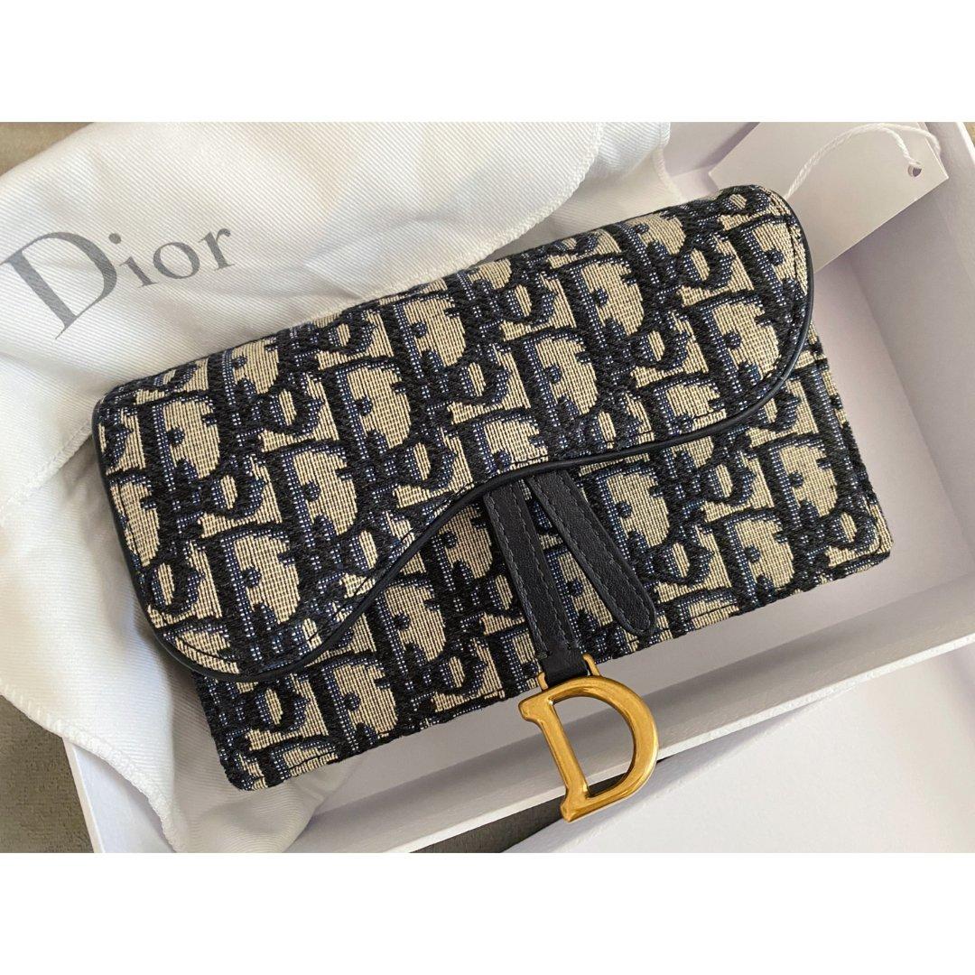 Dior老花腰包