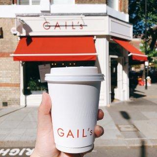 宅家打卡|偶尔想念Gail's的咖啡...