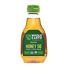 $6.17 Whole Earth Sweetener Organic Honey & Stevia Blend Low-Calorie 12-Ounce