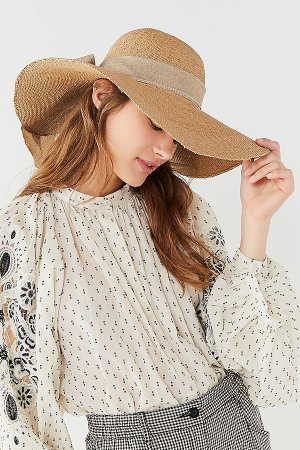 Straw Floppy Hat | Urban Outfitters