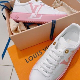 LV新款粉色小白鞋...