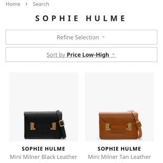 绝版的Sophie Hulme送给妈妈...