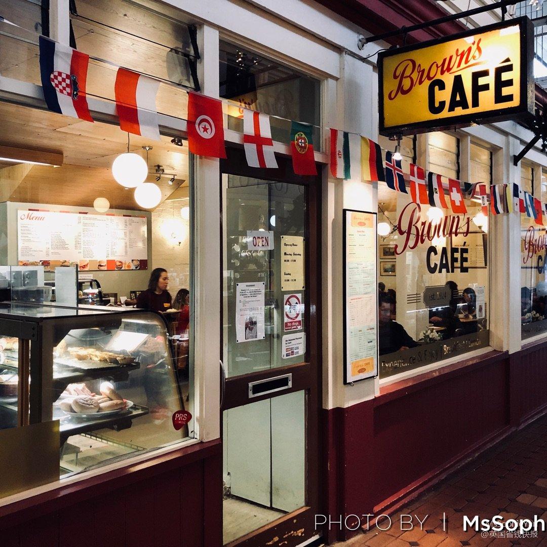 Browns cafe