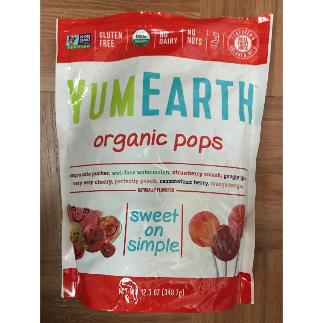 YumEarth Organic Lollipops,$4.12
