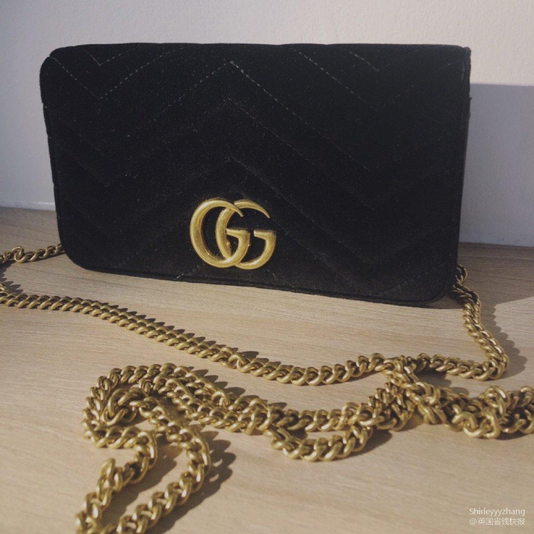 Gucci丝绒链条包 答应我一定要买一只...