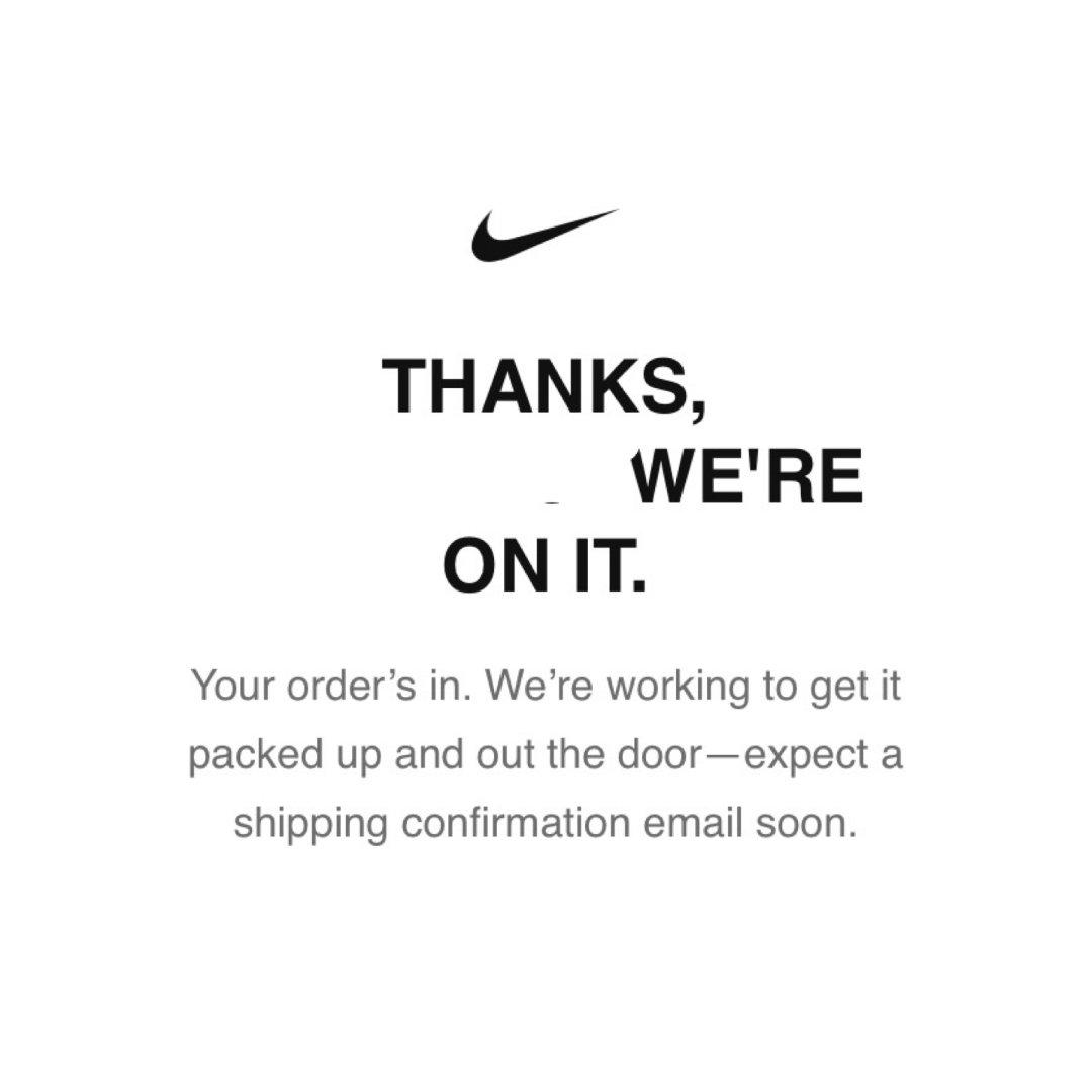 【11月剁手月】|Nike