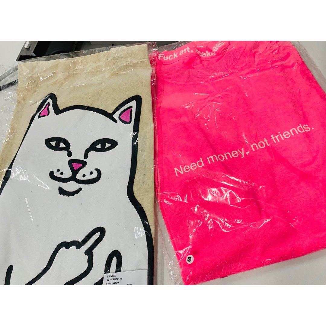fxxk art T恤 和小贱猫布包