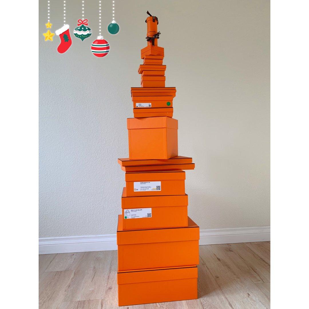 2019买包年度总结|橘盒子摆的🎄