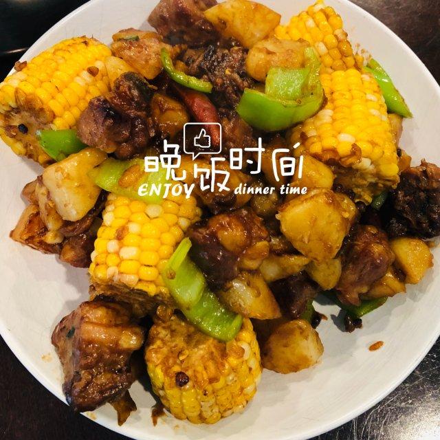 自制美食分享|排骨炖玉米🌽
