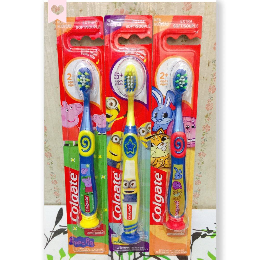 卡通牙刷,让孩子爱上刷牙!
