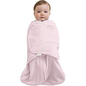 Amazon.com: HALO SleepSack 100% Cotton Swaddle, Soft Pink, Small: Baby