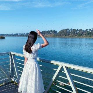 🦢 永不过时的白色连衣裙 | 湾区隐藏小...