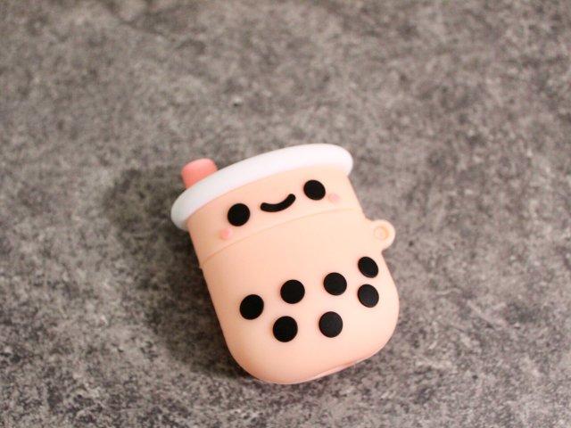 airpods保护套 超可爱的珍珠奶茶